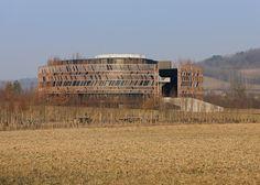 Alésia Museum visitor's centreby Bernard Tschumi Architects - Dezeen
