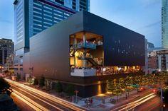 Jonathan Jackson, Austin Nightlife, Mall Facade, Austin Hotels, Austin City Limits, Centre Commercial, Commercial Architecture, Austin Texas, Acl Austin