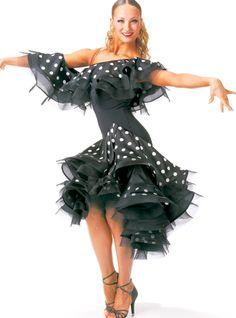 Taka Latin Dance Dress 00060  Dancesport Fashion @ DanceShopper.com