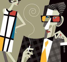 Mondrian por Pablo Lobato.