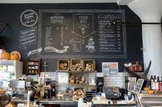 coffe chops chalk board | Cool chalk board - Intelligentsia Coffee Shop | chalk boards, signage ...