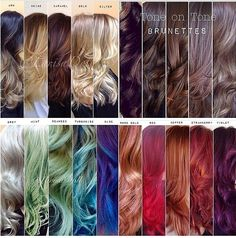 """Larisa Love shares her """"level chart"""" and reacts to the comments from other colorists. Included here are her shade and tone charts. Three charts in article. Hair Color 2018, Latest Hair Color, Hair 2018, Pretty Hair Color, Hair Color And Cut, Hair Colour, Balayage Hair, Ombre Hair, Honey Balayage"""