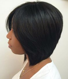 60 Showiest Bob Haircuts for Black Women African-American Collarbone Bob Black Bob Hairstyles, African Hairstyles, Straight Hairstyles, Bob Haircuts, Hairstyles 2016, 1930s Hairstyles, Summer Hairstyles, Female Hairstyles, Girl Hairstyles