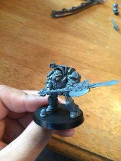 Deathwatch dark angel terminator Warden