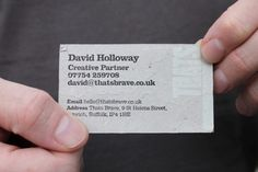 simple business card ideas | Cards Designs Ideas