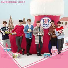 BASKINROBBINS with EXO-K
