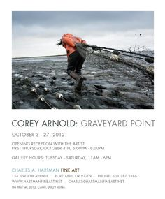 Via Corey Arnold 'new solo exhibition of photographs at Charles A. Hartman Fine Art in Portland, Oregon on the 4th of October 5-8pm.' View other works at coreyfishes.com