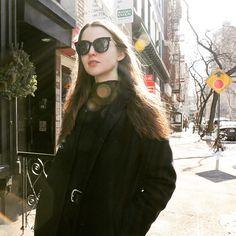 #알리마이클#ali_michael #paparazzi #snap #2015fw#fashionweek #newyork #sunglasses #cateye#gentlemonster #streetfashion #fashion #젠틀몬스터#imgmodel