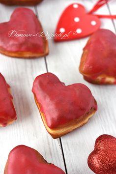 Pączki serca Sugar, Cookies, Crack Crackers, Biscuits, Cookie Recipes, Cookie, Biscuit