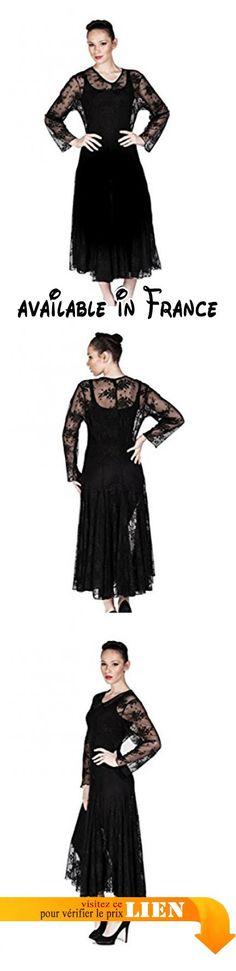 B01J230TXS : Hüseyin Kücük - Robe - Trapèze - Femme Noir Noir 36 - Noir - 40.