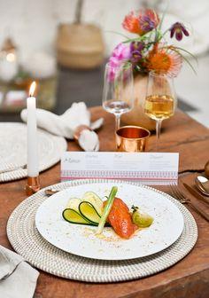 Mariage Ethnique Moderne - Design Dessine-moi une etoile - Fleurs Aude Rose - Photo Annaimages