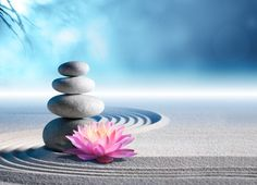 Photo about Sand, lily and spa stones in zen garden. Image of stones, relax, spirit - 53360767 Bon Weekend, Zen Meditation, Zen Background, Bon Week End Image, Art Zen, Massage Place, Face Massage, Spa Massage, Relaxing Music