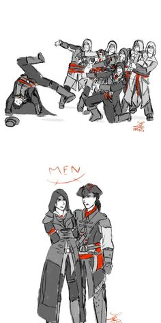The Creed in a nutshell >> Evie and Aveline are the best!