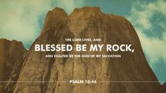 Not only does God exist, but He is steadfast. Always should we glorify His name for the salvation He has brought us.