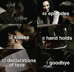 Teen Wolf - Scott and Allison