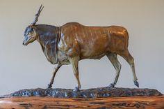Eland in bronze