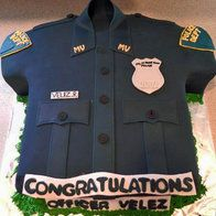 This would have been cute for Chris instead of the badge cake! Oops! I didn't mean to post as Stephen. LOL