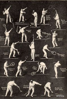 1920 How to Play Tennis