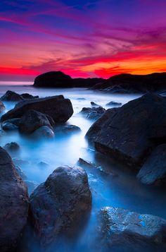 A seascape from Kumta beach, Karnataka, India.