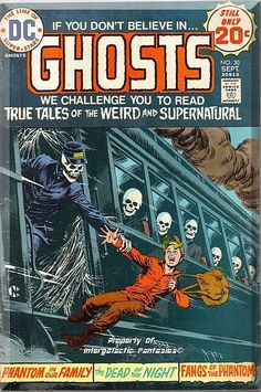 4 classic horror tales from DC comics, cover art by Nick Cardy, 32pgs. Only $6.49 with Free Shipping!