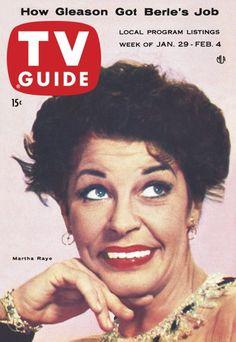 TV Guide, January 29, 1955 - Martha Ray