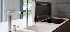 Precise finish options. Corian can be fabricated neatly into almost any shape required with seamless jointing