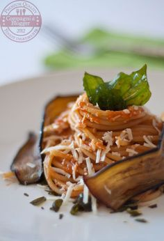 spaghetti di Oldani al profumo di Norma