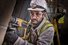 portraits of construction workers - Google Search
