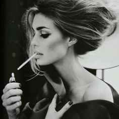 Sexy. Minus the cigarette, but it def adds to the drama.