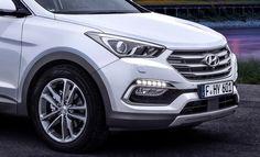 Facelifted 2017 Hyundai Santa Fe Unveiled, Debuts In Frankfurt