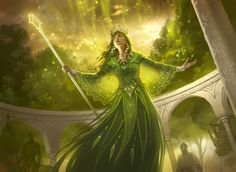Sigdelva was never one fond of followers. She considered the beasts of the Forest to be her worshippers, and didn't tolerate any human followings. However, even she knew the importance of a sentient emissary. Heralds of Sigdelva serve as extensions of her will, guarding the Forest against threats and bringing balance to nature. Theoretically, they'd also serve her in times of war. But there's never been a war in the Forest. Until now...