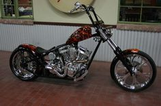 Death Dealer CFL built by West Coast Choppers - WCC of U.S.A.
