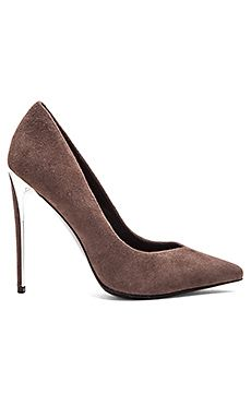 RACHEL ZOE Via Heel in Warm Grey
