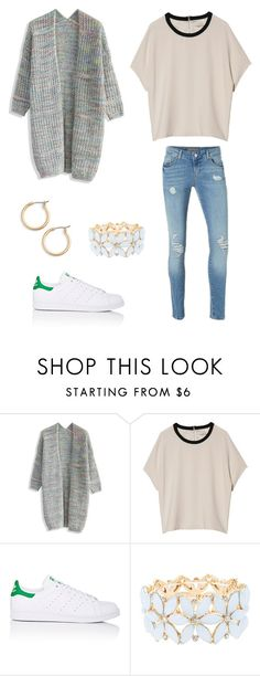 """""""Casual"""" by secret-girl02 ❤ liked on Polyvore featuring Chicwish, rag & bone, Vero Moda, adidas, Charlotte Russe and Nordstrom"""