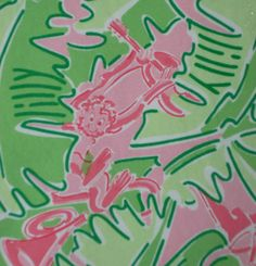 Lilly Pulitzer Dress 12 Ladies Pink Green Monkey Palm Beach Juice Shift #LillyPulitzer #Shift #Casual