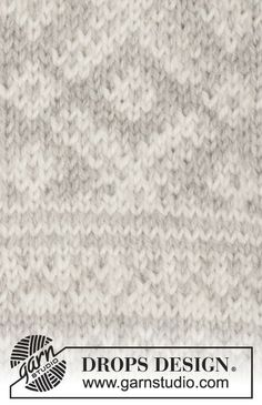 """Knitted DROPS mittens with Norwegian pattern in """"Karisma"""". Knitting Charts, Knitting Stitches, Knitting Patterns Free, Knit Patterns, Free Knitting, Drops Design, Drops Lima, Drops Karisma, Drops Alpaca"""