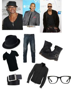 """""""Shemar Moore Style"""" by jendayinkenge ❤ liked on Polyvore"""