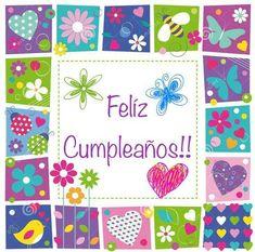 44 Imágenes mensajes de Feliz cumpleaños con tarjetas para regalar | Ideas imágenes