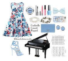 """""""Cinderella Concert"""" by disneyfashioneveryday ❤ liked on Polyvore featuring TFNC, Giuseppe Zanotti, Sugar NY, OPI, Clinique, Express, Lonna & Lilly, Casetify and DKNY"""