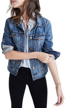 fd775431f56 Madewell Cotton Denim Jacket (Pinter Wash) Size XS & Small This Wash