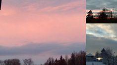 ZA MĚSTEM U LESA: Nebe v uplynulém týdnu