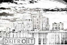 Detroit Art by #Detroit