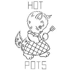 Pattern Detail | A Kitten a Day - Hot Pots | Needlecrafter