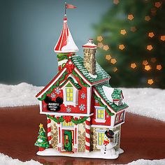 Mickey Mouse ''Mickey's Christmas Castle'' Building by Dept. Disney Christmas Village, Mickey Mouse Christmas, Christmas Villages, Disney Mickey Mouse, Christmas Holidays, Christmas Crafts, Merry Christmas, Christmas Ornaments, Xmas