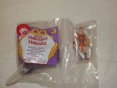 1996 Mcdonalds Happy Meal Toy Hercules  - Hercules and Hydra