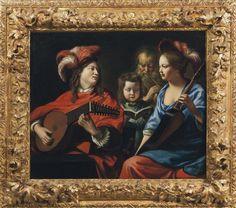 Le concert, toile des frères Le Nain / Visible au Musée d'art et d'archéologie du Pays de Laon