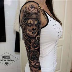 Fresh #Tattoo by #TattooArtist @drozdovtattoo #drozdovtattoo #tattooloversshop #tattooed