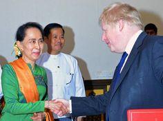 Menlu Inggris Desak pemimpin Myanmar Cepat Atasi Krisis Rohingya : Menteri Luar Negeri (Menlu) Inggris Boris Johnson mendesak pemimpin Myanmar Aung San Suu Kyi untuk bertindak secara cepat mengatasi krisis yang menimpa etnis Rohing