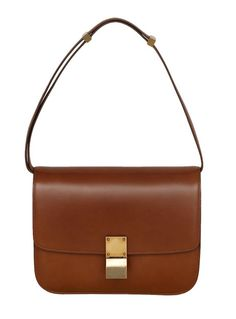 My current obsession. I've been known to splurge, but this is a liiiittle out of my range (Celine Box Bag). Celine Classic Box, Celine Box, Celine Purse, Celine Handbags, Box Bag, Ysl, Chloe, Gucci, Brown Bags