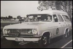 """HR Holden Panelvan Ambulances """"note the 3rd door"""""""
